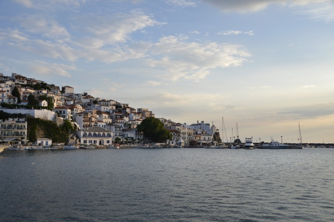 Andonis's birthplace, Skopelos