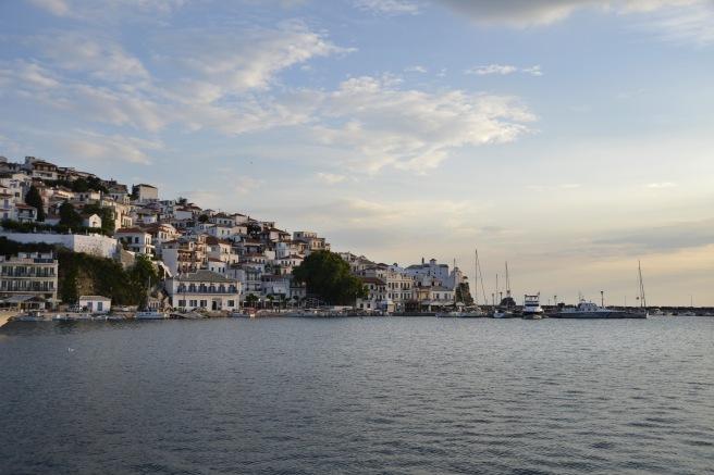 Andonis's birthplace, Skopelos