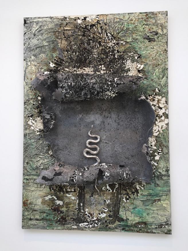 Original Sin, by Anselm Kiefer. Oil, impasto, molten lead