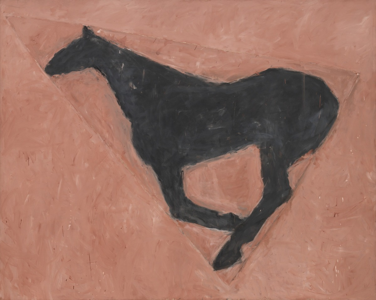 The horses of Susan Rothenberg