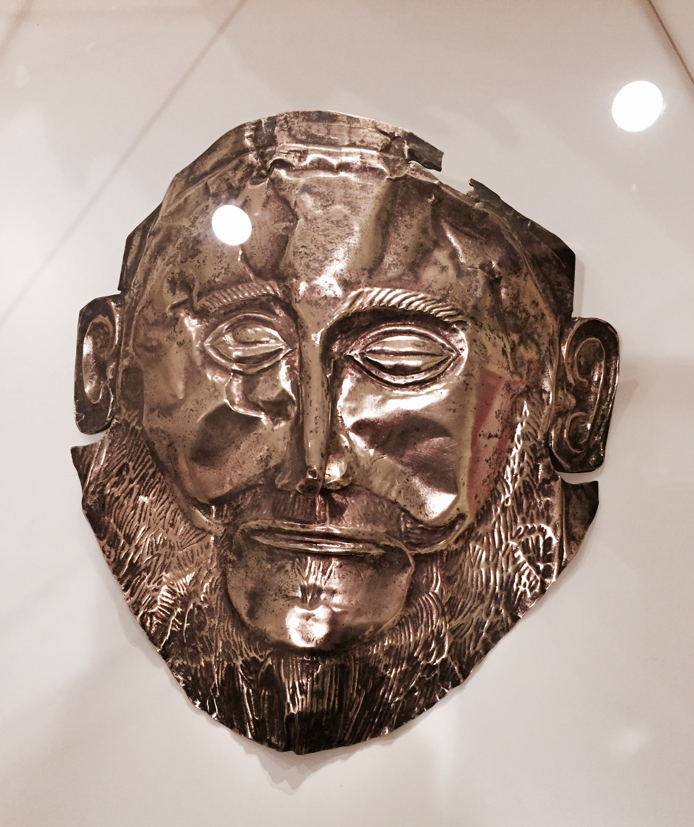 Copy of the mask of Agamemenon